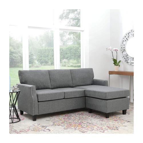 charcoal sofa chaise