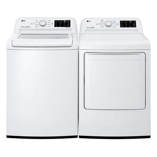4.5 cu. ft. Top Load Washer & 7.3 cu. ft. Electric Dryer
