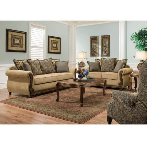 Outback Antique Sofa & Loveseat