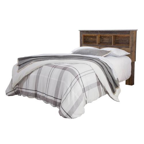 """4-Piece Chadbrook Queen Bedroom Set w/ 12"""" Serene Sky Plush Pillow Top Mattress"""