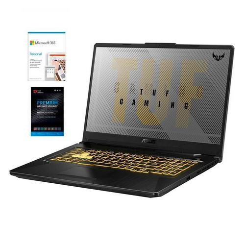 "17.3"" TUF Gaming Laptop w/ AMD Ryzen 7 CPU, Microsoft 365 Personal & Total Defense Security"