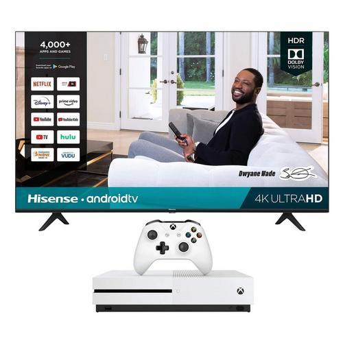 "55"" Class 4K UHD Smart TV & 1TB Xbox One S Bundle"
