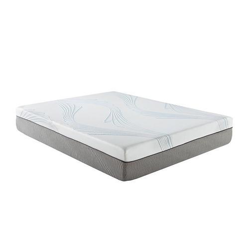 "12"" Tight Top Plush Full Latex Foam Boxed Mattress w/ Protector"