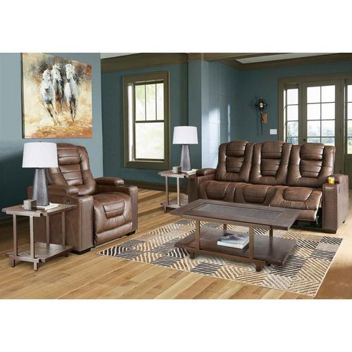 8-Piece Owners Box Powered Reclining Living Room Collection