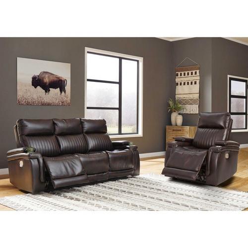 2 - Piece Team Time Power Reclining Sofa & Recliner Chair Living Room Set