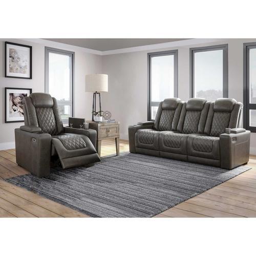 2 - Piece Hyllmont Power Reclining Sofa & Chair - Gray