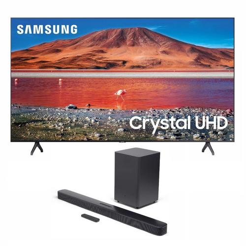 "50"" Class 4K UHD Smart TV & JBL Bar 2.1 Soundbar Bundle"