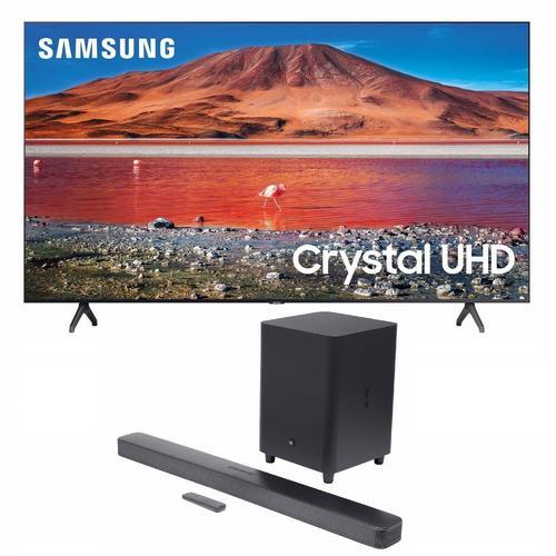 "50"" Class 4K UHD Smart TV & JBL Bar 5.1 Soundbar Bundle"