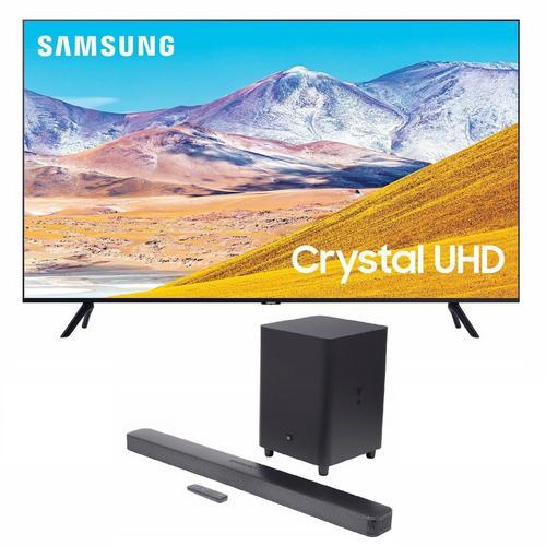 "85"" Class 4K UHD Smart TV & JBL Bar 5.1 Soundbar Bundle"