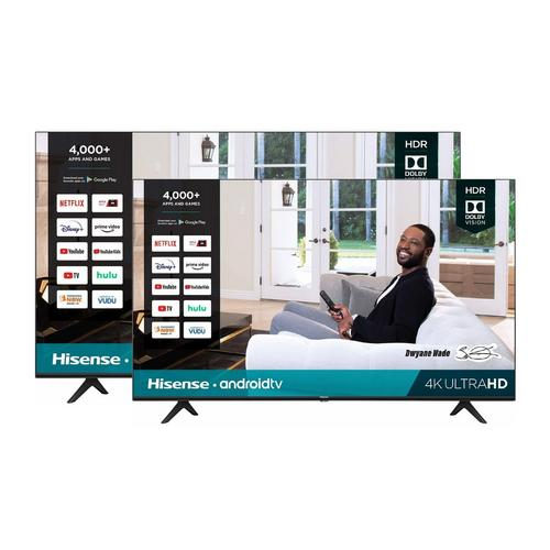 "2 TV Bundle -  One 55"" Class & One 50"" Class 4K UHD Smart TVs"