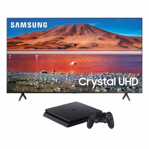 "55"" Class 4K UHD Smart TV & Playstation 4 with 2 Bonus Games Bundle"