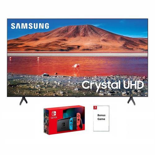 "65"" Class 4K UHD Smart TV with Nintendo Switch & Bonus Game Bundle"