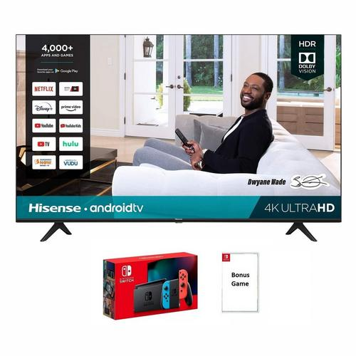 "65"" Class 4K UHD Smart TV with Nintendo Switch & Bonus Game Bundle"