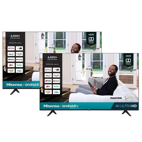 "2 TV Bundle - Two 55"" Class 4K UHD Smart TVs"
