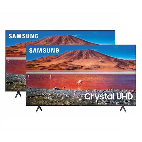 "2 TV Bundle - Two 55"" Class 4K UHD Smart TVs"
