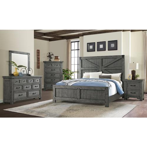 6-Piece Old Forge Queen Bedroom Set
