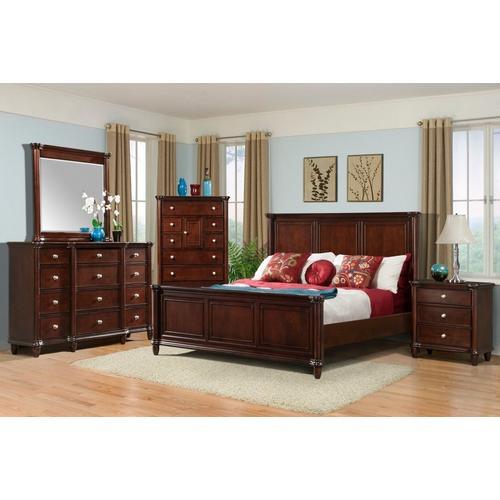 6-Piece Hamilton Queen Storage Bedroom