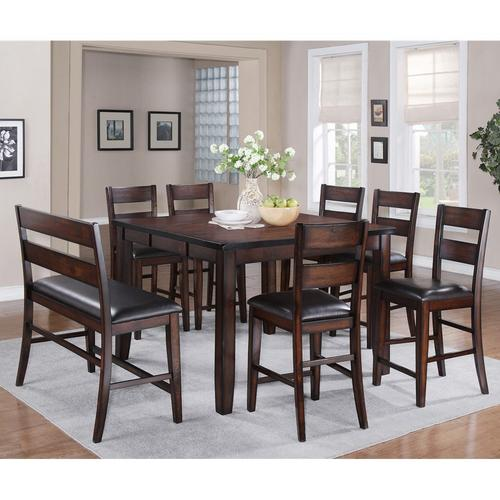 8-Piece Maldives Counter Height Dining