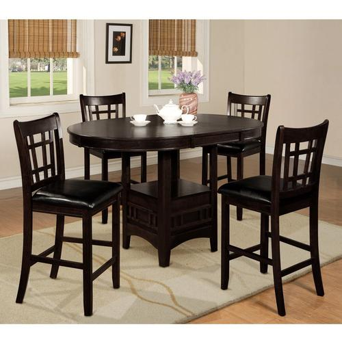 5-Piece Hartwell Counter Height Dining Espresso
