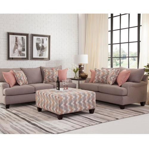 3 - Piece Cascade II Sofa, Loveseat & Ottoman