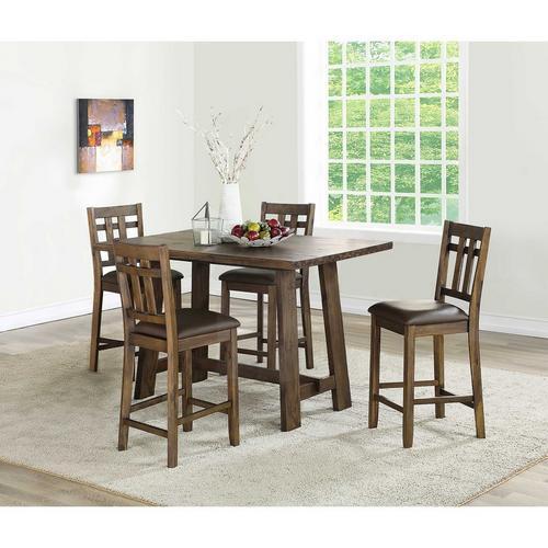 5 - Piece Saranac II Counter Height Dining Set