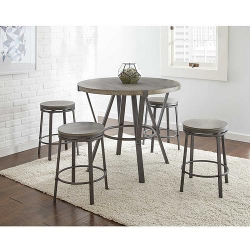 5 - Piece Portland II Bar Table w/ Barstools