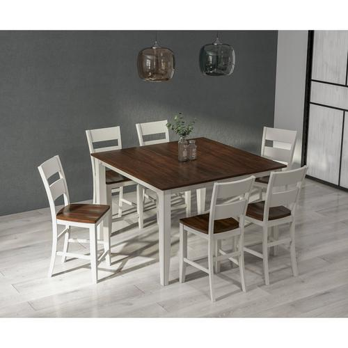 7-Piece Merrill Creek Counter Height Dining Room Set