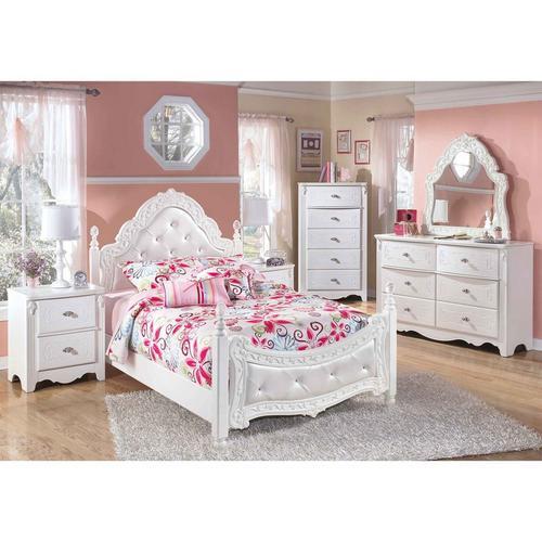 6-Piece Exquisite II Full Bedroom Set