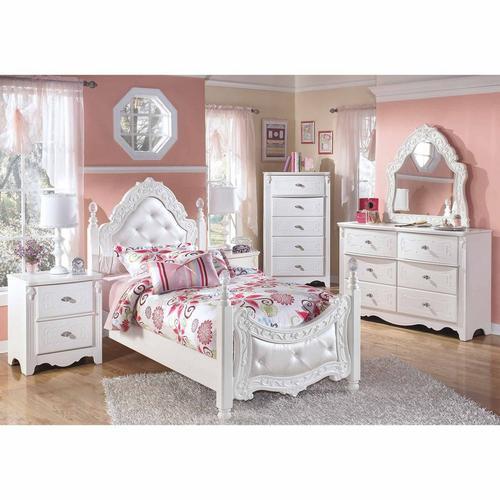 7-Piece Exquisite II Twin Bedroom Set