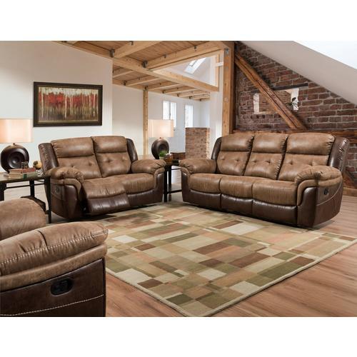 Everett Bonanza II Dual Reclining Sofa, Loveseat, & Recliner