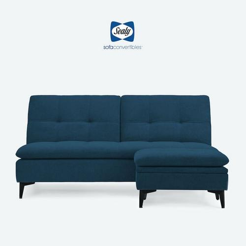 2 - Piece Sedona Sofa Convertible w/ Ottoman - Ocean