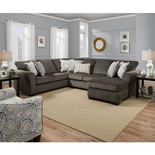 2 - Piece Harlow Ash Sectional