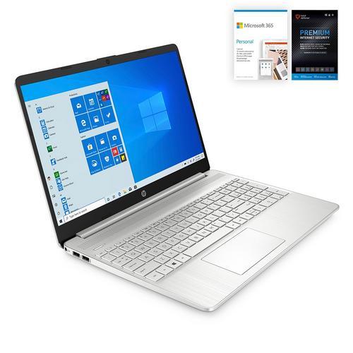 "15"" Laptop w/  Microsoft Office 365 & Total Defense Internet Security"