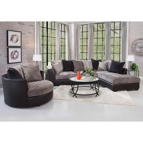 8 - Piece Jamal Chaise Sofa Sectional Living Room Set