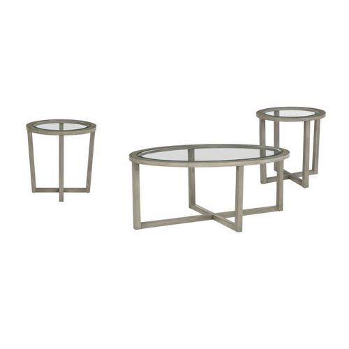 Butler Greystone Cocktail Table & 2 End Tables