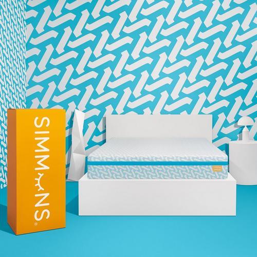 """10"""" Tight Top Medium Gel Memory Foam Full Boxed Mattress w/Protector"""