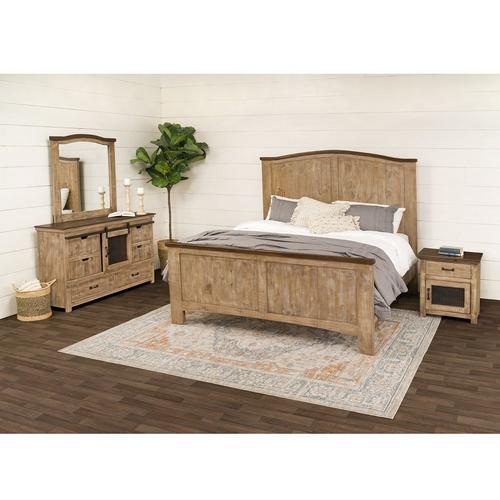 6 - Piece Wind Creek King Bedroom Set