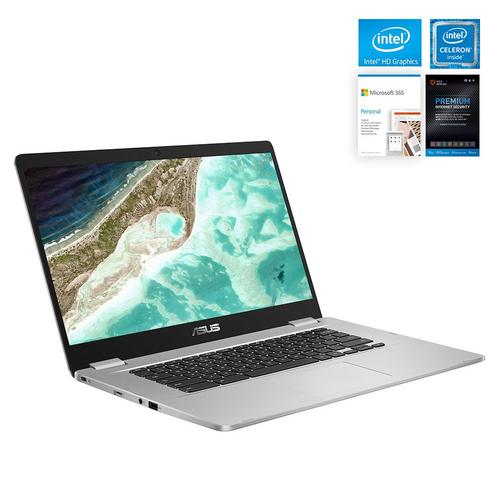 "15.6"" Chromebook C523  w/ Total Defense Internet Security v11 & Microsoft 365- Personal Edition"
