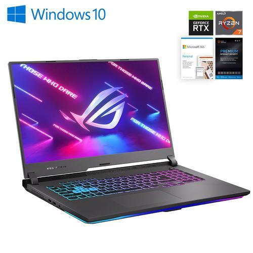 "17.3"" ROG Strix Gaming Laptop  w/ Total Defense Internet Security v11 & Microsoft 365- Personal Edition"