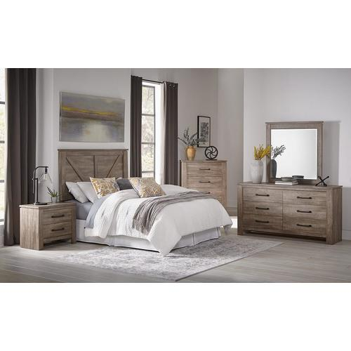 3 - Piece Adorna II Queen Bedroom Set w/ Dresser & Mirror
