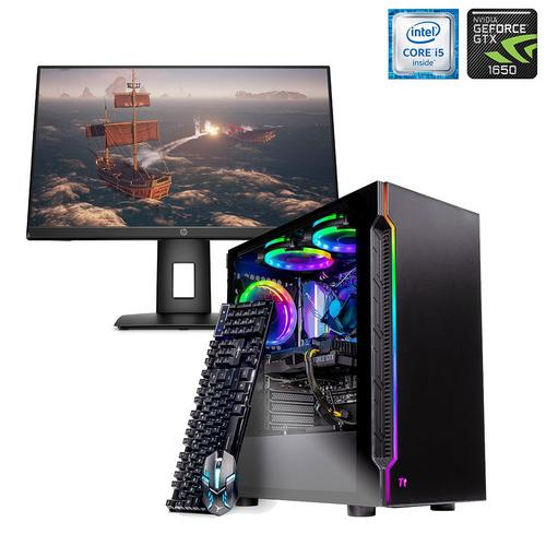 """24"""" Monitor w/ Gaming Desktop"""