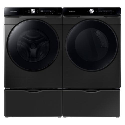 4.5 Cu. Ft. Front Load Washer & 7.5 Cu. Ft. Electric Dryer w/ Pedestal