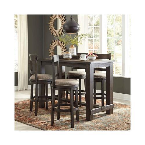 5 - Piece Drewing Dining Set w/ Barstools