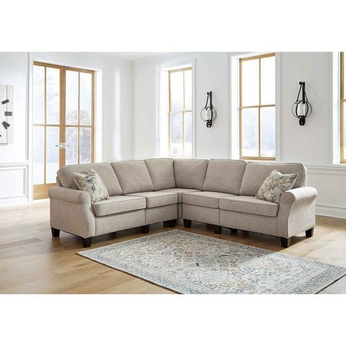 4 - Piece  Alessio Sectional - Beige