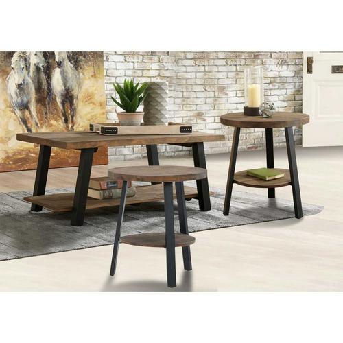 3 - Piece Chanzen Coffee Table w/ 2 End Tables