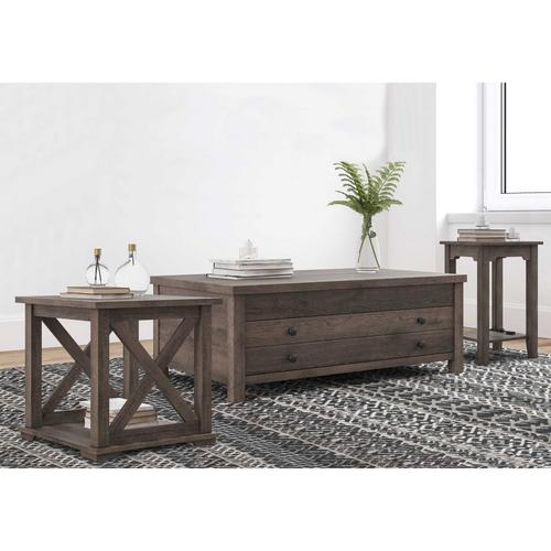 3 - Piece Arlenbry Coffee Table w/ Chairside Table & End Table