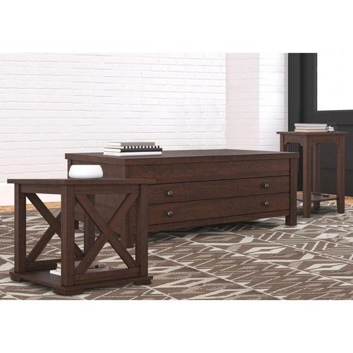 3 - Piece Camiburg Coffee Table w/ Chairside & End Table
