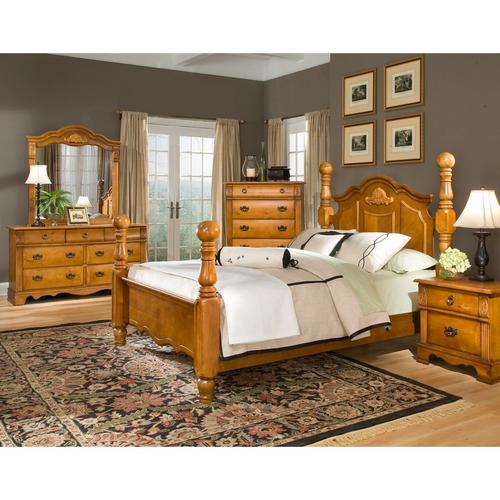 Rent To Own Elements International 11 Piece Bryant Queen Bedroom Set W Woodhaven Tight Top Firm Mattress At Aaron S Today