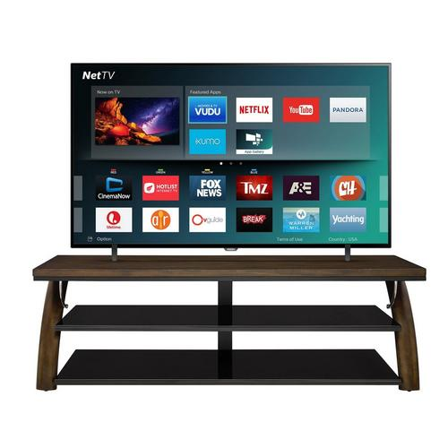"75"" Class Smart 4K UHD TV & 70"" TV Console Bundle"