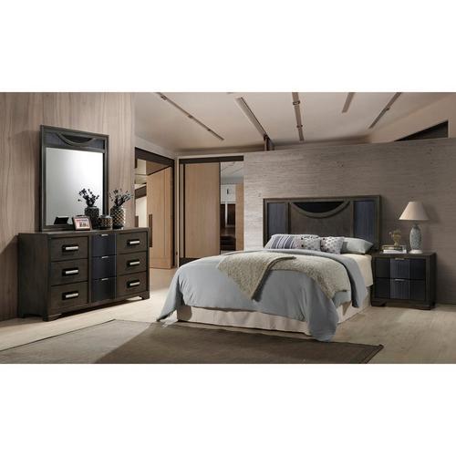 9-Piece Seneca Queen Bedroom Set w/ Corsicana Tight Top Firm Mattress